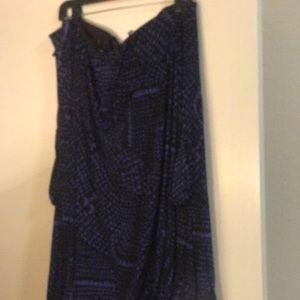 Strapless BCBG maxazria mini dress